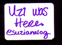 Uzi was here