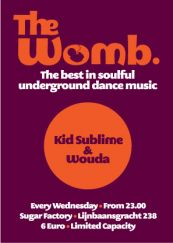 THE WOMB: THE BEST IN SOULFUL UNDERGROUND DANCE MUSIC